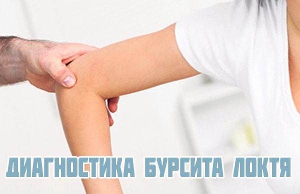 Диагностика бурсита